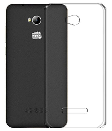 Stromax High Quality Ultra Thin Transparent Silicon Back Cover For Micromax Canvas Juice 4 Q382  available at amazon for Rs.125