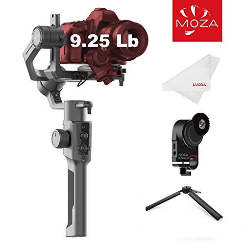 MOZA Air 2 Gimbal Reflex, Estabilizador Camara 3 Ejes de Carga hasta 9Lbs / 4.2KG 16h Tiempo de Trabajo, Gimbal Estabilizador Camara Refelx para Canon Nikon Sony