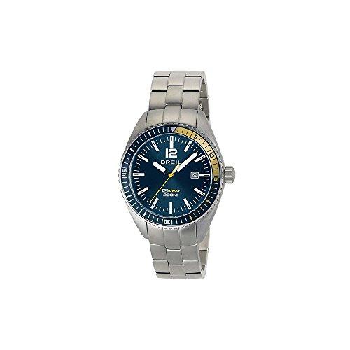 montre heure seulement Breil pour homme Midway TW1630 style décontracté cod. TW1630