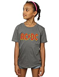 AC/DC Girls Red Logo T-Shirt