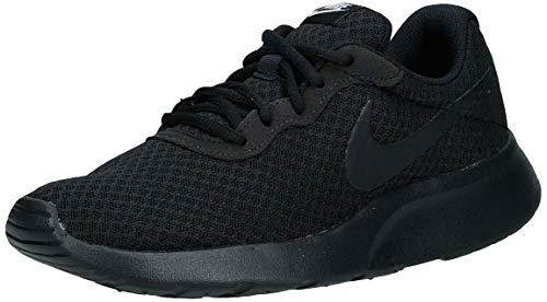 Nike Damen WMNS Tanjun Laufschuhe, Schwarz (Black/Black-White 002), 39 EU