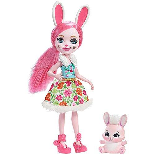 Enchantimals Muñeca Brie Bunny (Mattel DVH88)