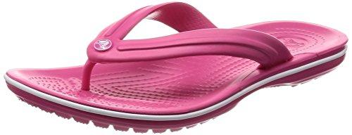 Crocscrocband flip, infradito unisex - adulto, rosa (paradise pink/white), 41/42 eu
