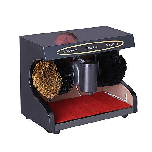 QYF PLucidatore di Scarpe Lucidatrice for Scarpe elettriche for Uso Domestico-Rilevamento Automatico/Lustrascarpe in Soli 10 Secondi/Robusto e durevole-45W , 1400 RPM