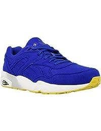 Puma - R698 Bright - 35883202 - Color: Azul marino-Blanco - Size: 44.5