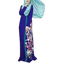 swall owuk Mujer Muslim Abaya Dubai Muslim ische Vestido Ropa Arab Árabe India Turco Casual para