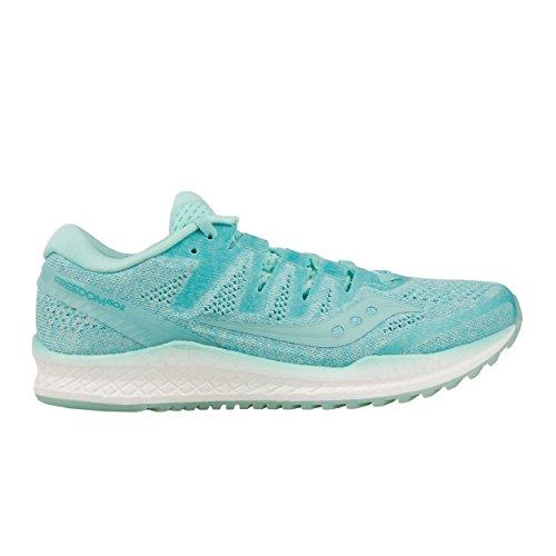 Saucony Freedom ISO 2, Zapatillas de Entrenamiento para Mujer, Azul (Aqua 035), 38 EU