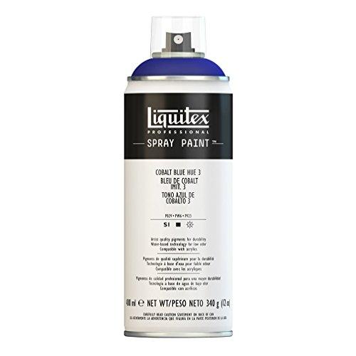 Liquitex Professional - Acrílico en spray, 400ml, azul cobalto (imit.) 3