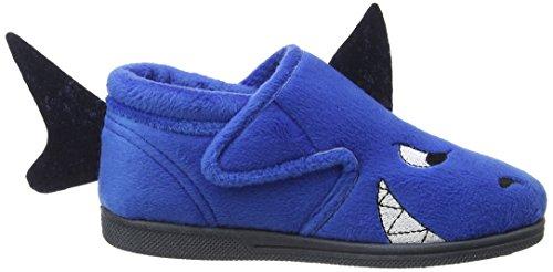 Chipmunks Sharky, Chaussons montants garçon Bleu (Bleu)