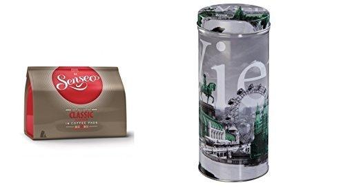 Senseo - Classic Kaffeepads - 16.St/111g Xavax Paddose 'City' Wien