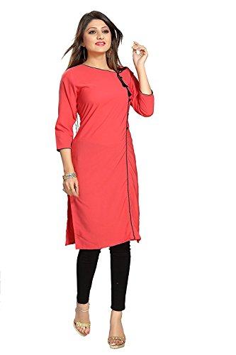 Muta Fashions Chiku Kurti Fabric For Fancy Women's Kurtas for Girls Fabric...