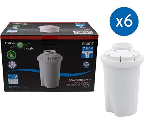 FilterLogic FL601T - 6 unidades - cartucho filtro