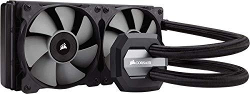 Corsair Hydro H100i V2 RGB Wasserkühlung (2 x 120mm Lüfter, All-In-One Extreme Performance CPU) schwarz
