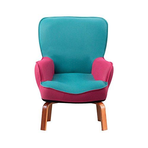DEO Bureau d'ordinateur chaise pour enfants Enfants Kids Sofa Set Fauteuil Fauteuil avec repose-pieds durable (Couleur : A, taille : Chair)