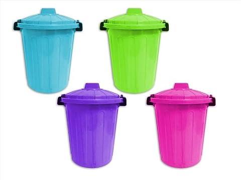 Quality Deep Purple Kids Large Plastic Storage Bin Box Toys, Bits & Bobs