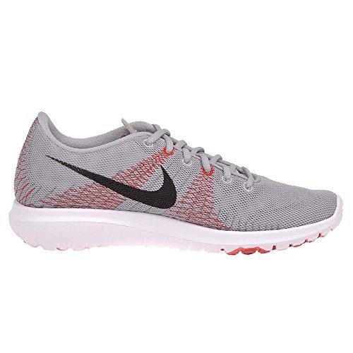 Nike Kids Flex Fury (gs) Schwarz / WeiÃ? / Volt / flash Lime Laufschuh 5,5 Kinder Us Wolf Grey/Bright Crimson/University Red/Black