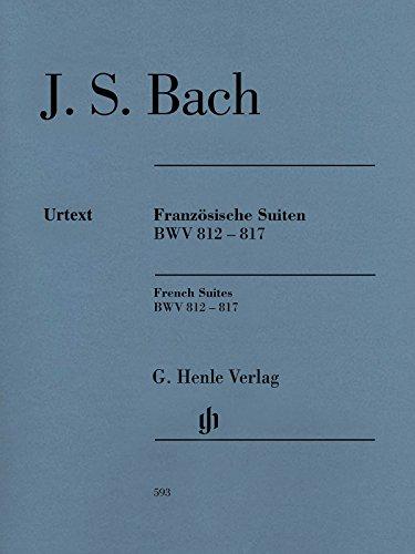 Französische Suiten BWV 812-817, revidierte Ausgabe