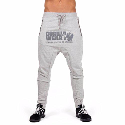 Gorilla Wear Alabama Drop Crotch Joggers - Gray, L