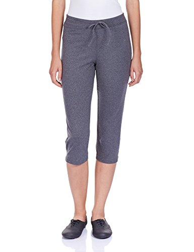 Jockey Women's Cotton Capri Pants (1300-0105-CHAML_L)