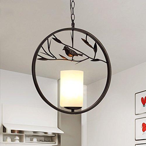 Liuyu·Küche zu Hause European Style Coffee Shop Bar Kreative Eisen Kronleuchter Größe: 36 * 41cm