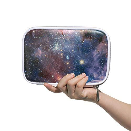 ISAOA Große Kapazität Multifunktions-Mäppchen für Schule, Cool Universe Galaxy Space Muster, 15 stabile Schreibwaren, Federmäppchen, Kosmetiktasche für Stifte, Make-up, Pinsel, Notizbuch - Office Space Kit