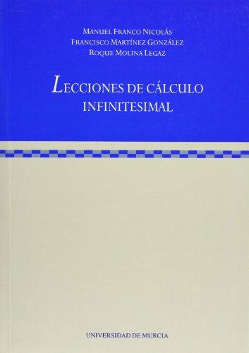 Descargar Libro Lecciones de Calculo Infinitesimal de Manuel Franco Nicolas