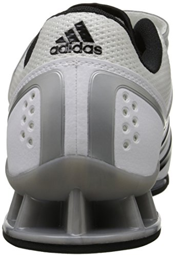 Adidas adiPower Weightlift Shoes - nero / scarlatto / Tech Grey Metallic (3.5) White / Black / Tech Grey