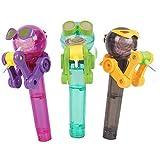 JVSISM Kreative Neuheit Spielzeug Lustige Lutscher Roboter Spielzeug Lutscher Halter Dekompression sü?igkeiten staubdicht Spielzeug