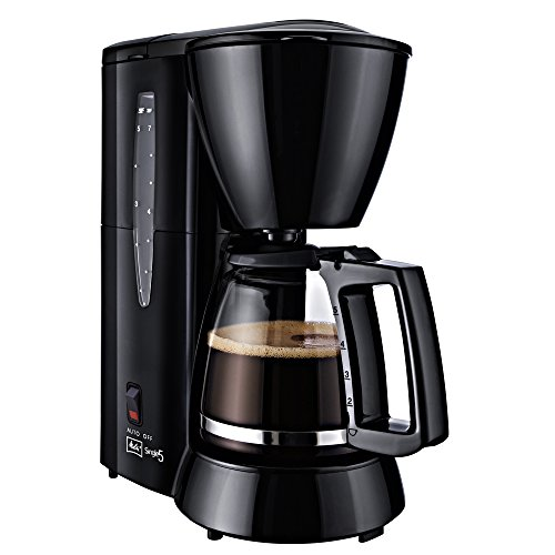 Melitta Single 5 - Cafetera de goteo, 650 W, para 5 tazas, color negro
