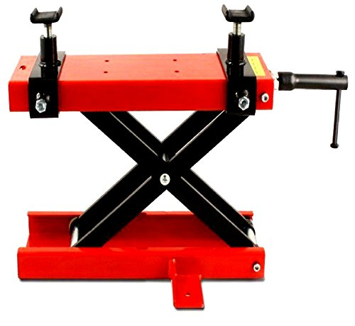 Price comparison product image PROGEN MOTORBIKE MOTORCYCLE 500KG 1100LBS TABLE BENCH WORKSHOP SCISSOR LIFT JACK STAND PADDOCK