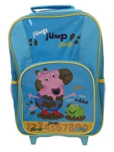 Peppa Pig George Premium Wheeled Bag from Trade Mark Collections