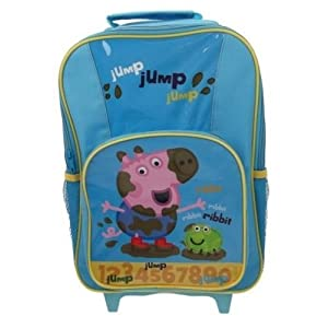 Peppa Pig George – Mochila escolar George Peppa Pig (Trade Mark Collections PEPPA001240)