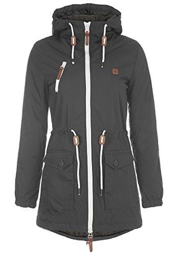 DESIRES Tilonga 9179550 Jacke, Größe:XXL, Farbe:Dark Grey (2890) (Günstige Frauen Jacken)