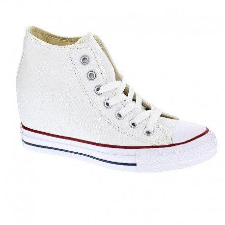 Converse Chuck Taylor Mid Lux Canvas donna, tela, sneaker alta, 36 EU