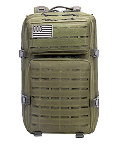 47L Militakry Tactical Backpac 3-Tage-Assault-Pack Army Molle Bug Out Bag Rucksäcke Wasserdichte Rucksäcke Daypack für Outdoor-Reisen, Camping, Trekking \u0026 Jagd