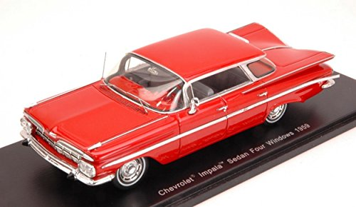 spark-model-s2903-chevrolet-impala-sedan-four-windows-1959-lobster-red-143
