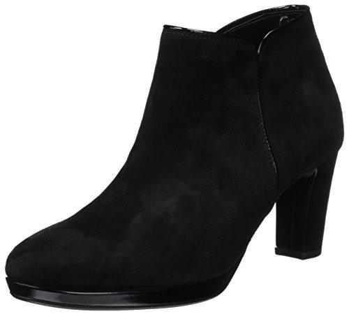 Gabor Shoes Damen Comfort Basic Stiefel, Schwarz (47 Schwarz (Ldf.)), 38 EU (Trim Patent Stiefel)