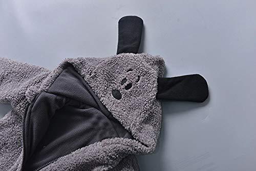 Cappotto Bimba Elegante Giacca Bambino Elegante Felpa Bambina 1 2 3 Anno Bambino  Bambini Bambine Autunno Inverno Hooded Cappotto Mantello Giacca Spessa ... 3c4ded90c0e