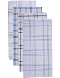 MEG Men's Cotton Lungi (Multi-Coloured, Pack of 4)- ASSORTED DESIGNS