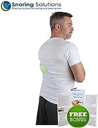 Camiseta Antirronquidos de Snoring Solutions – ¡La ayuda para dejar de roncar más cómoda para