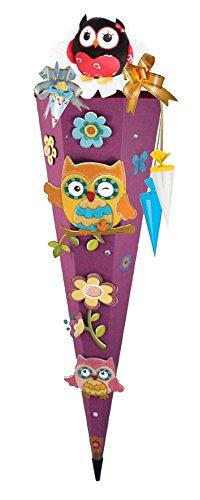 Olivia the Owl Eule Schulranzen Set TOOLBAG SOFT Schneiders u. passende Federtasche Sporttasche Schultüte Schmuckaufsatz-Set Set 14 tlg. – 78405-0513 - 9