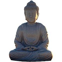 azutura Buda Vinilos Religioso Pegatina Decorativos Pared Indio Arte de la decoración del hogar Disponible en 8 Tamaños XX-Grande Digital
