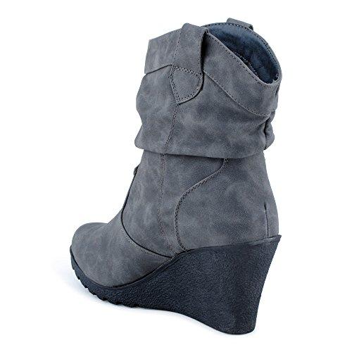 Sendra Boots, Damen Stiefel & Stiefeletten Schwarz Schwarz
