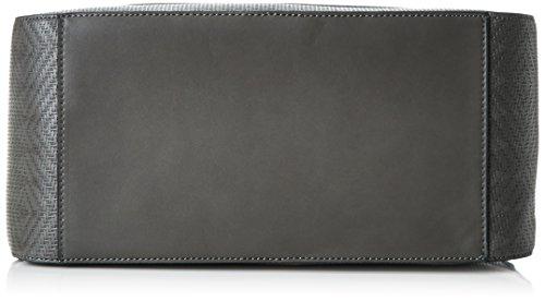 Sansibar Damen Henkeltaschen, 33x21x16 cm Grau (Grey)