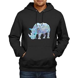 TEXLAB Poly Rhino - Herren Kapuzenpullover, Größe XXL, schwarz