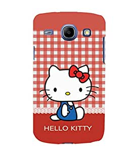 printtech Kitty Cat Back Case Cover for Samsung Galaxy A3 / Samsung Galaxy A3 A300F