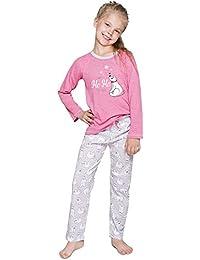Merry Style Pijamas Conjunto Camisetas Mangas Largas y Pantalones Largos Ropa de Cama Interior Lencería Niña