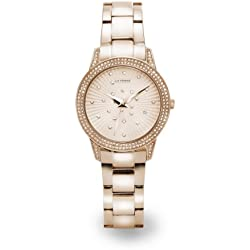 LA FROXX BRIGHT STARS rose Damenuhr modisch analog quartz Edelstahl IP rosé 7951.53.93