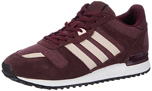 adidas Damen Zx 700 Sneaker Rot (Maroon/haze Coral/night Red)