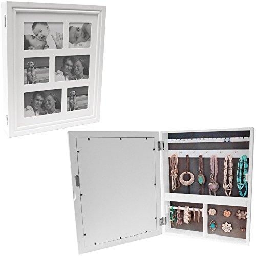 Multistore-2002-Organizador-de-joyas-para-armario-color-blanco